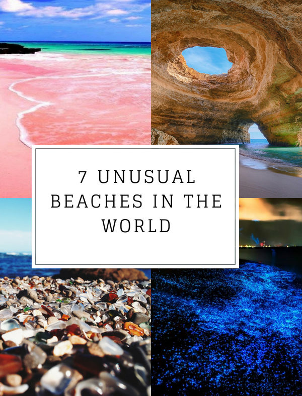 7 unusual beaches in the world